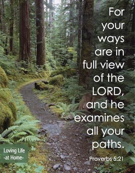 Stick to the Path | http://lovinglifeathome.com