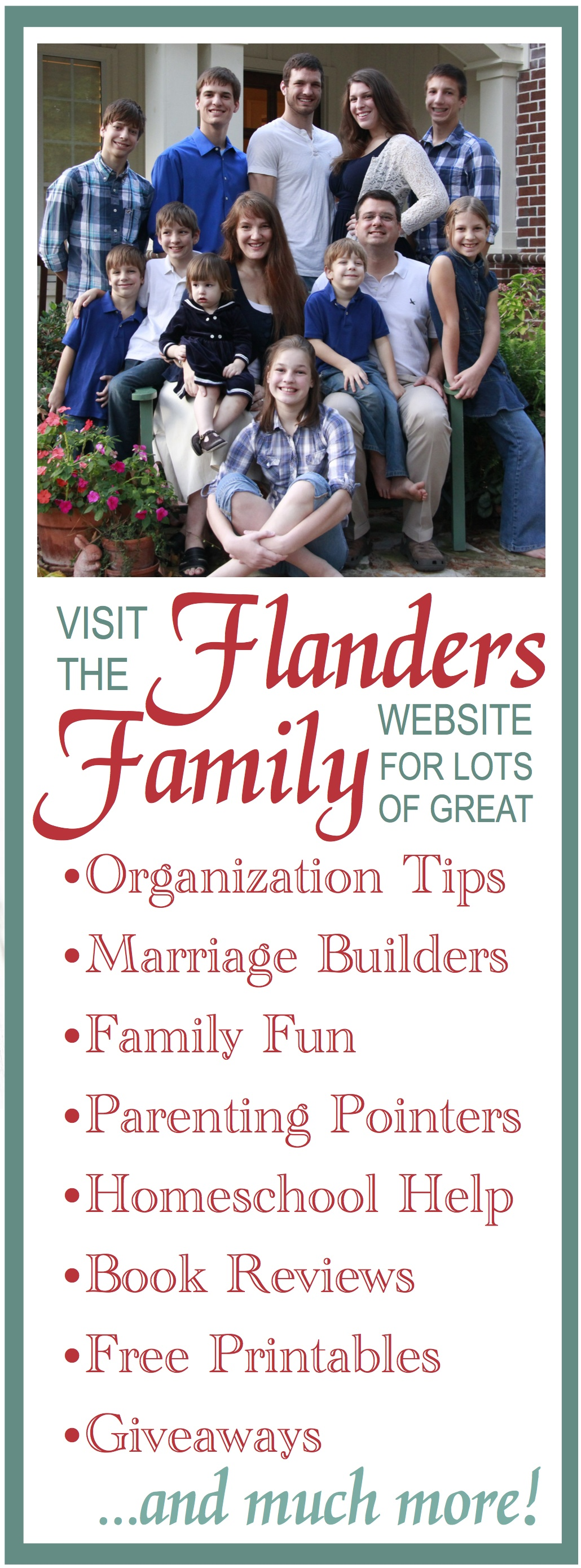 Visit the Flanders Family Website