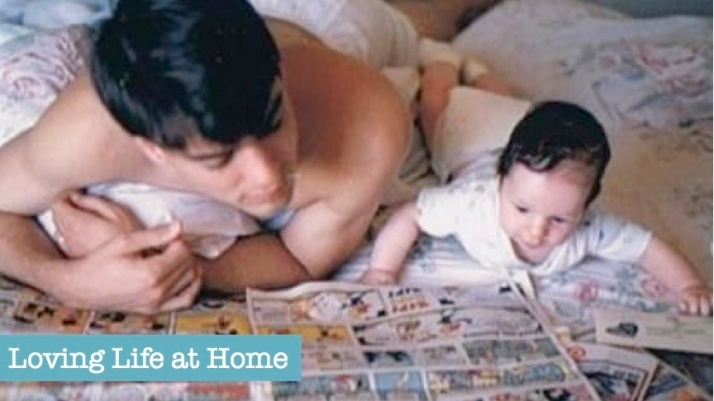 A Hero in the Making | a Father's Day poem from Loving Life at Home