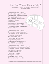 Wanna Have a Baby? (Song Lyrics)