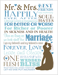 Free printable marriage subway art from http://lovinglifeathome.com