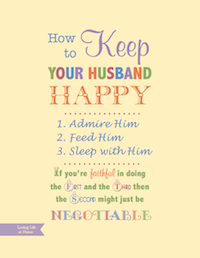 How to Keep Your Husband Happy - Yellow