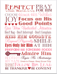 Respect Your Husband | free subway art printable from https://lovinglifeathome.com