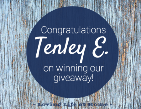 Announcing our Giveaway Winner!