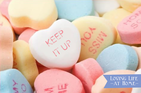 Your Most Telling Declarations of Love Aren't Made on Valentine's   A Plea for Perseverance from Loving Life at Home