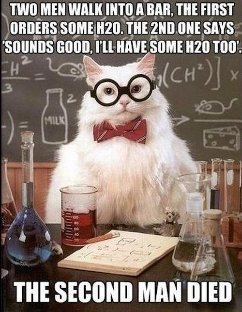 Hydrogen Peroxide Joke