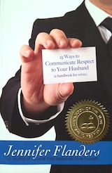 25 Ways to Communicate Respect to Your Husband - Read the post. Sign up for the challenge. Order the book.