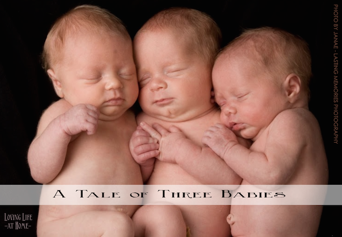 A Tale of Three Babies --  what an amazing story!