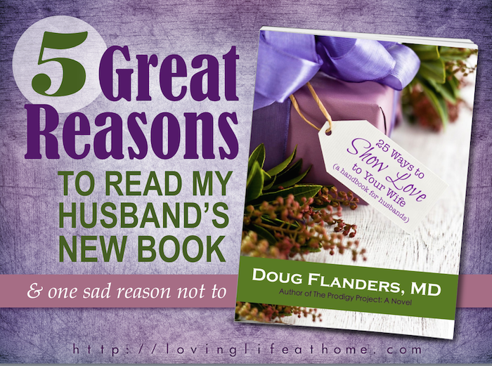 Great reasons to read my husbands book png
