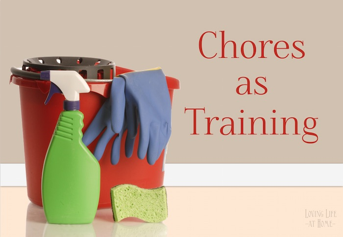 Chores as Training